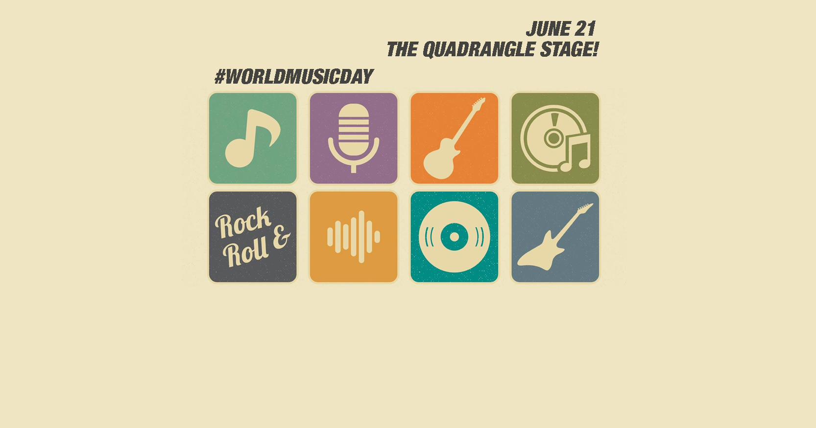BandAge -Celebrating World Music Day 2016 - The Quadrangle Stage -