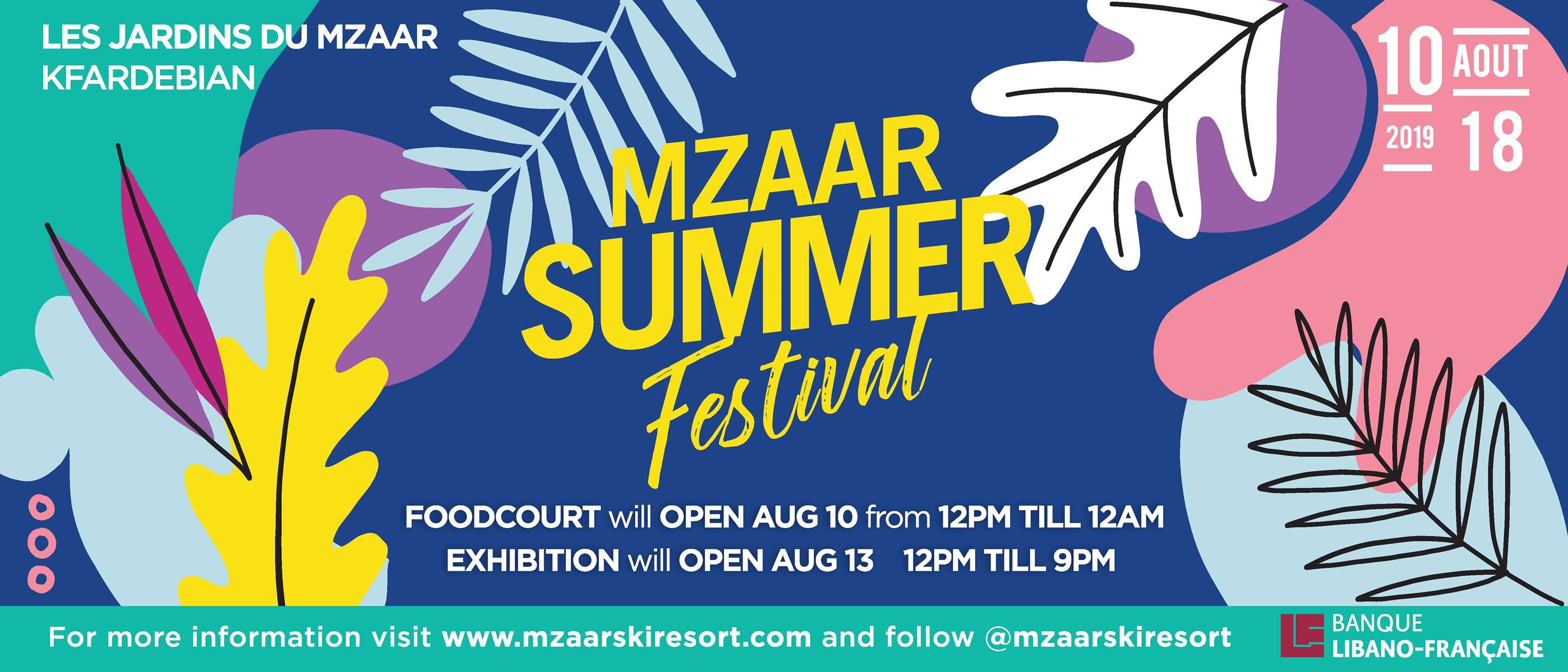 Mzaar Summer Festival